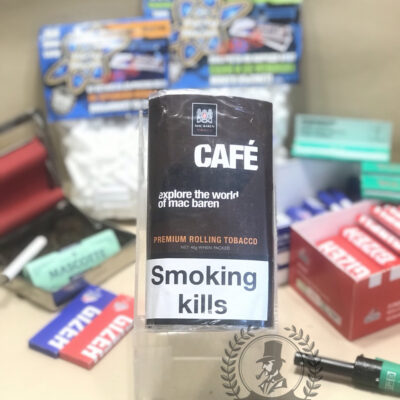 thuốc lá sợi cuốn cafe