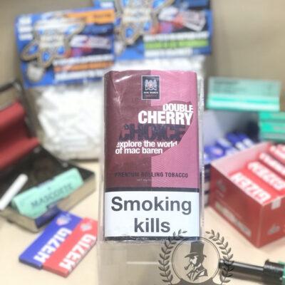 thuốc lá sợi cuốn double cherry