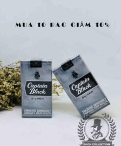 cigar mini captain black silver
