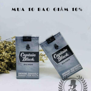 cigar mini captain black silver