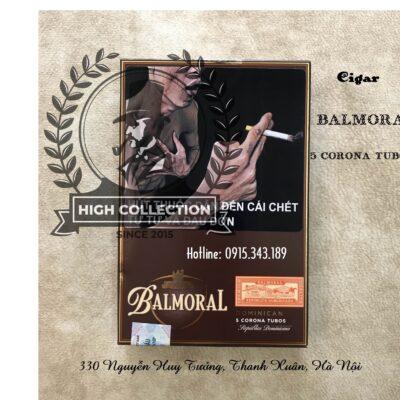 cigar balmoral 5 corona tubos