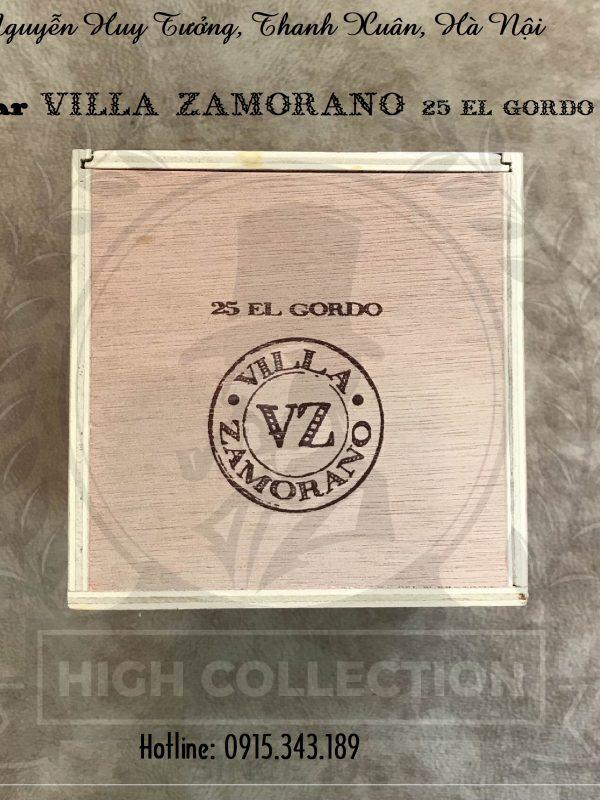 cigar villa zamorano 25 el gordo