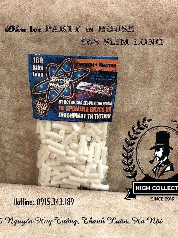 đầu lọc thuốc lá sợi 168 slim long