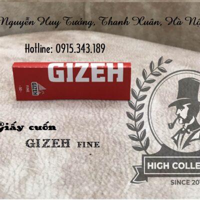 giấy cuốn thuốc lá sợi gizeh đỏ