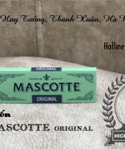giấy cuốn thuốc lá mascotte