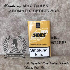 thuốc lá sợi mac baren aromatic #05