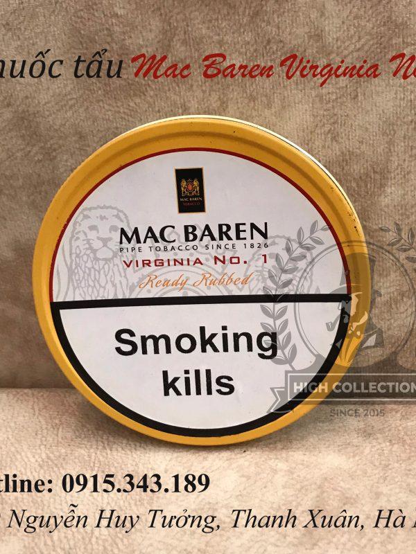 Thuốc tẩu Mac baren virginia no1