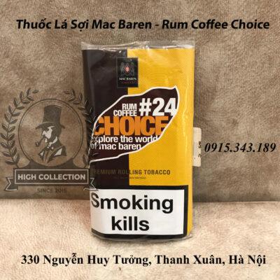Thuốc Lá Sợi Mac Baren - Rum Coffee Choice