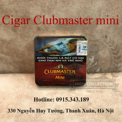 Cigar clubmaster mini red