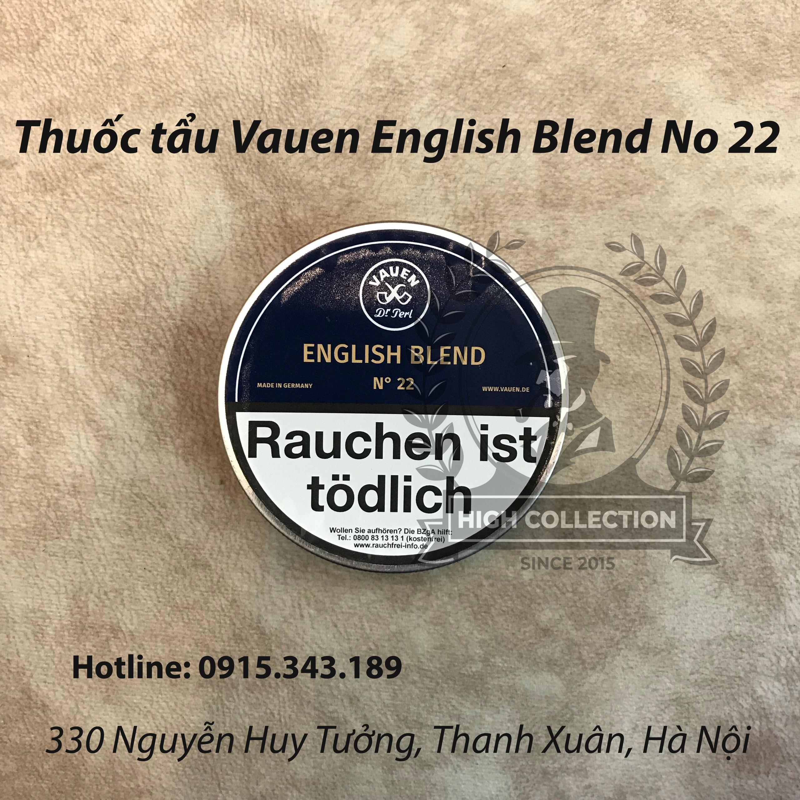 Thuốc tẩu Vauen English Blend No 22
