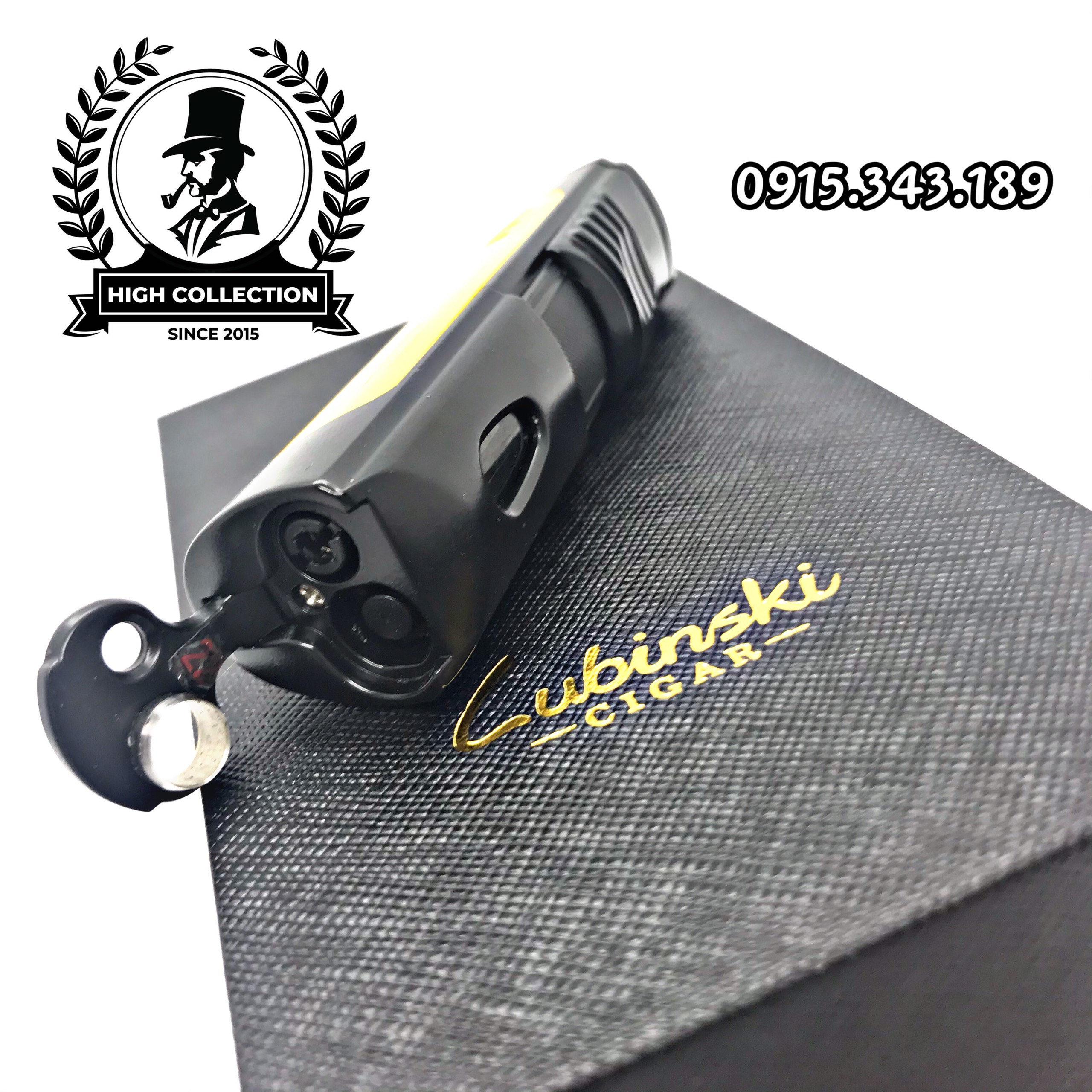 bật lửa cigar lubinski 1 tia 10013
