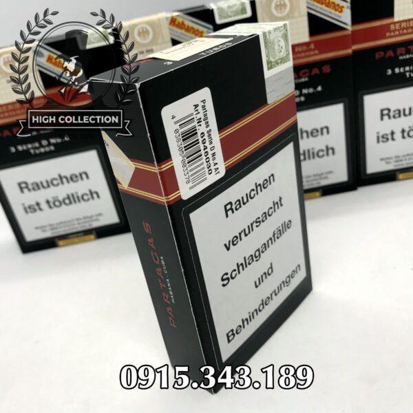 cigar partagas 15 serie d no 4 tubos noi dia duc 160318730687