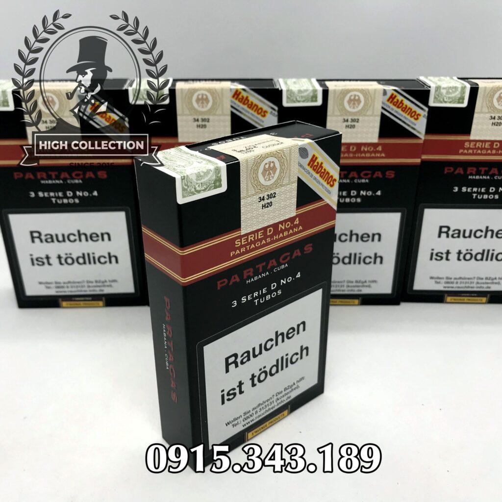 Cigar Partagas Serie D No.4 2