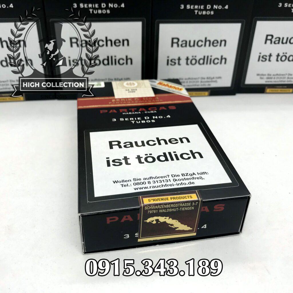Cigar Partagas Serie D No.4 5
