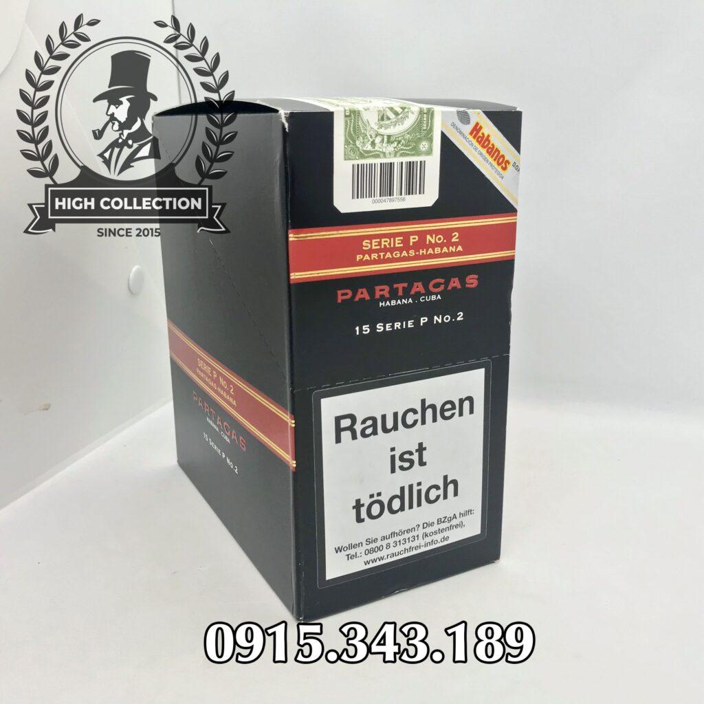 Cigar Partagas 15 Serie P No.2 1