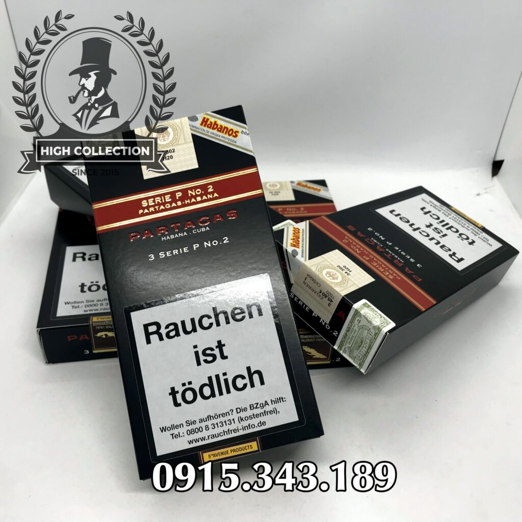 Cigar Partagas 15 Serie P No.2 3