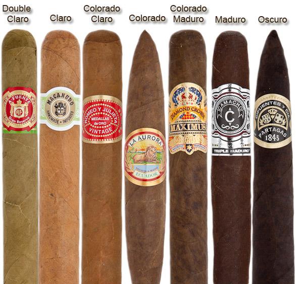 Màu sắc xì gà