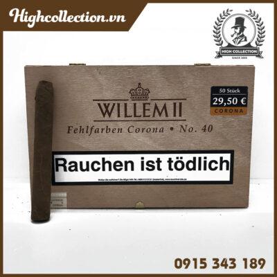 Cigar Willem II Fehlfarben Corona No. 40 Nội Địa Đức