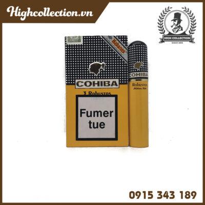 Cigar Cohiba Robusto Tubos