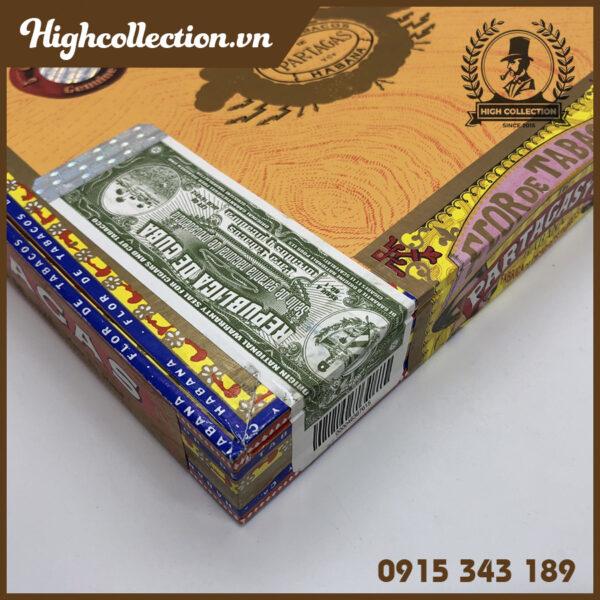 cigar partagas de luxe 10 tubos 1612150381705