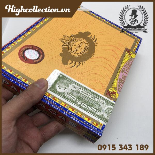cigar partagas de luxe 10 tubos 1612150387512