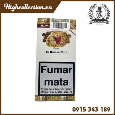Cigar Romeo Y Julieta 15 Romeo No1 Tubos TBN