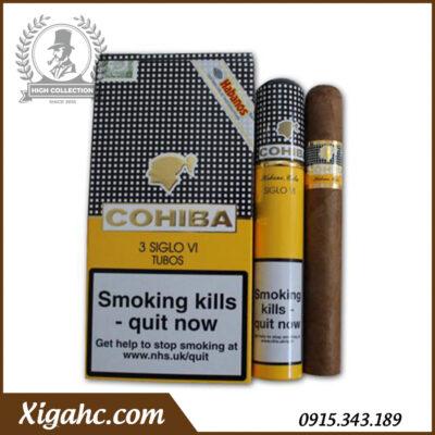 Cigar Cohiba 3 Siglo VI Tubos – Box 15 Tubos