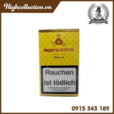 Cigar Montecristo Short 10 Đức