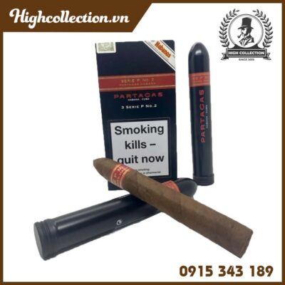 Cigar Partagas 15 Serie P No.2 Tubos Duty Đức