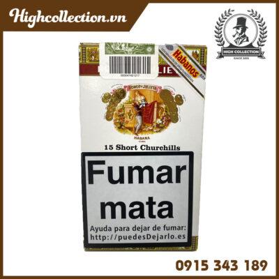 Cigar Romeo Y Julieta 15 Short Churchill Tubos TBN