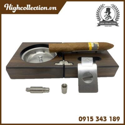 Set Phụ Kiện Cigar Hộp Gỗ 4PK