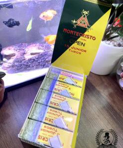 Cigar Montecristo Open 15 Junior Tubos Tây Ba Nha
